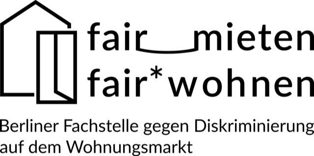 Logo der Berliner Fachstelle gegen Diskriminierung auf dem Wohnungsmarkt