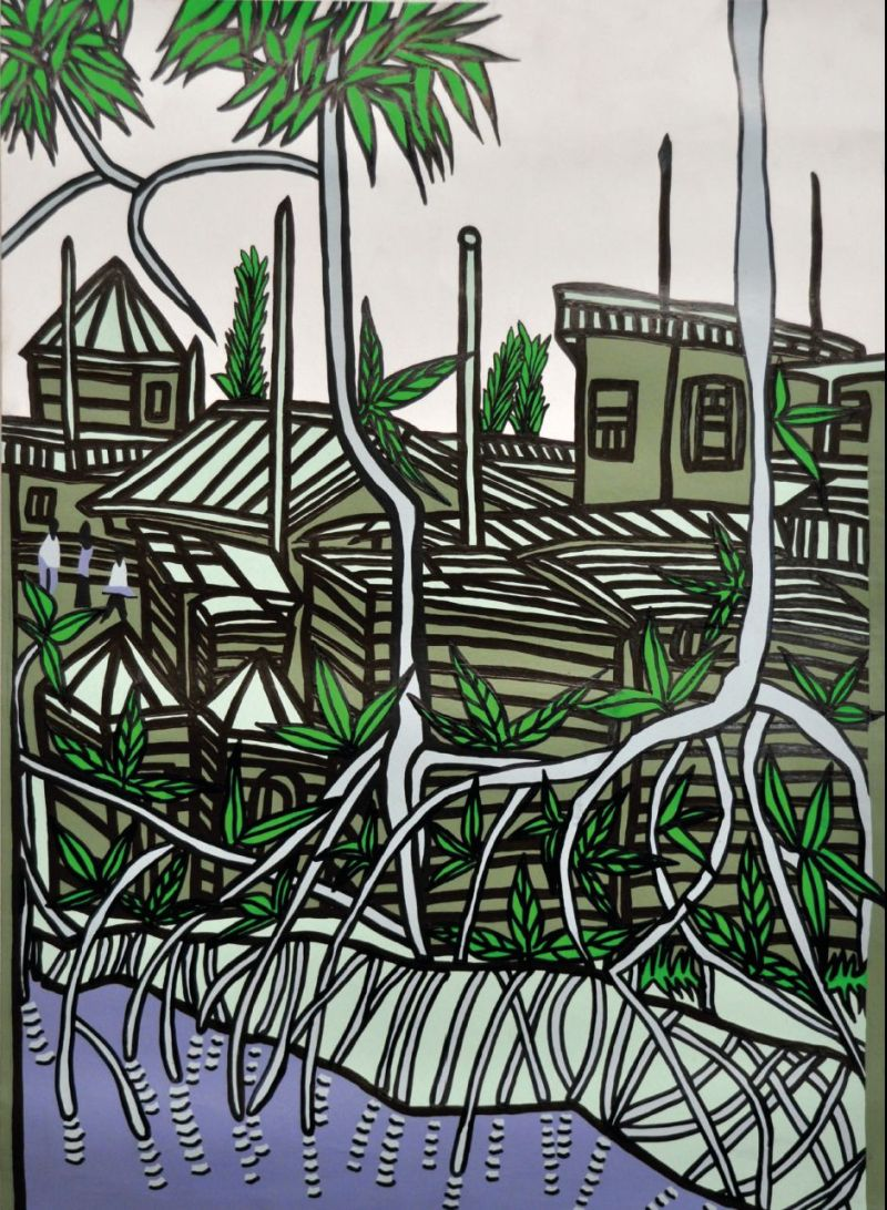 "Abbildung: Plakat für CITY SONGS: Boris Nzebo, ""City Songs "", 2011."