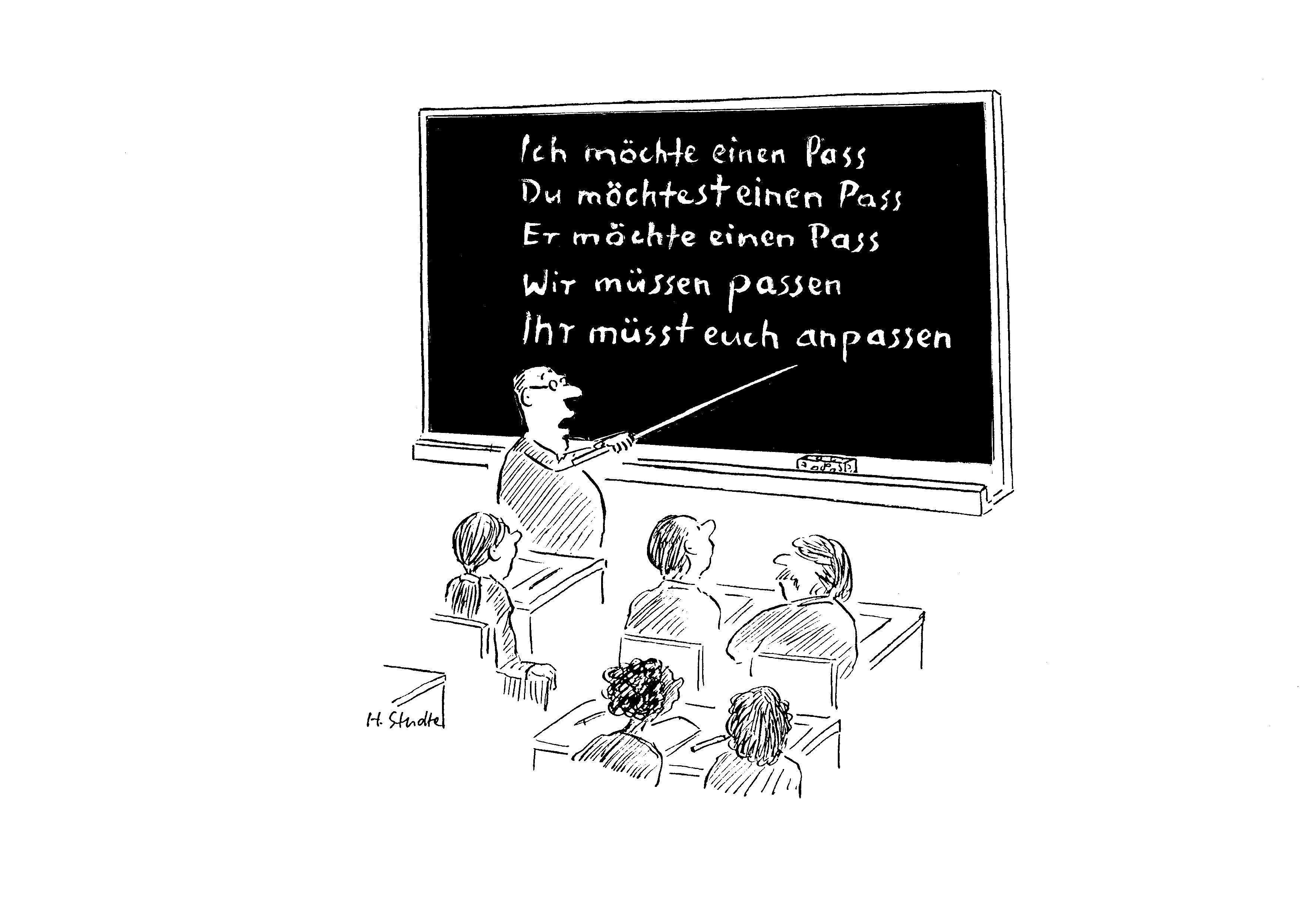 """""""Deutsch für Ausländer"""""""