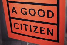 "Ausschnitt vom Plakat ""What makes a good citizen?"" von Nele Vos"